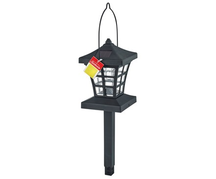 SUNBEAM 3 IN 1 SOLAR LED FENCE, COLOR HANGTAG & PDQ