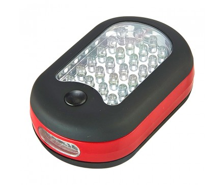 27 LED WORK LIGHT WITH MAGNET AND HOOK