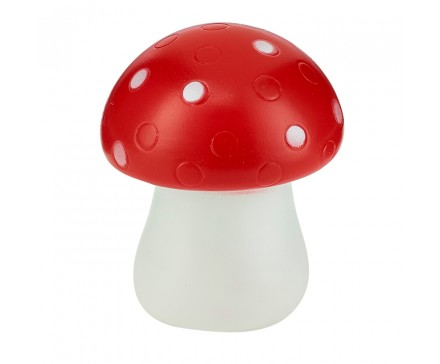 COLOR CHANGING LED MOOD LIGHT, RED MUSHROOM