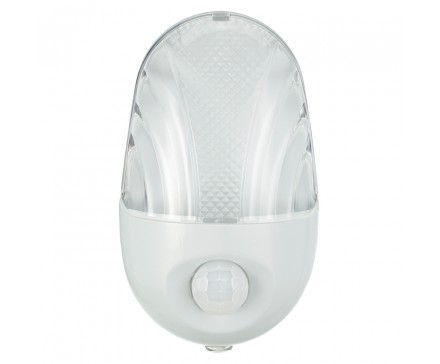 0.58W LED NIGHT LIGHT WITH AUTOMATIC & MOTION SENSORS