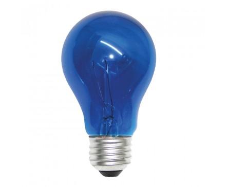 A19 40W BLUE BULB
