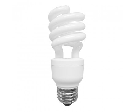 SPIRAL CFL 15W, 60W REPLACEMENT