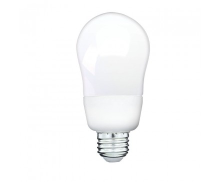 A-SHAPED CFL 14W, 60W REPLACEMENT