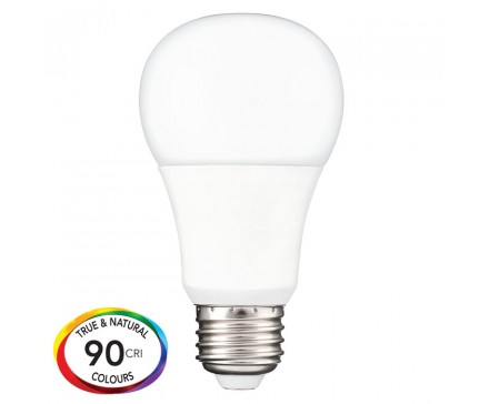 A19 LED 9.9W, 60W REPLACEMENT, OMNI-DIRECTIONAL AND DIMMABLE