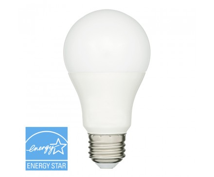 A19 LED 9W, 60W REPLACEMENT, SUITABLE FOR ENCLOSED FIXTURES
