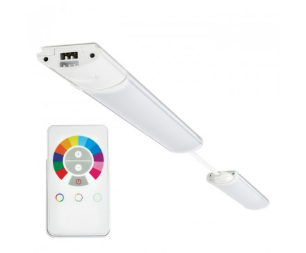 16 Color Changing Led Under Cabinet Light With Remote Control