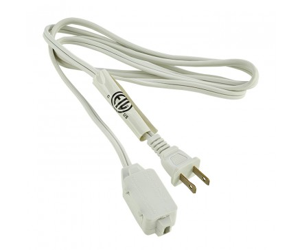 6' (1.83 M) EXTENSION CORD, WHITE