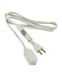 5' (1.5 M) EXTENSION CORD, WHITE OR BROWN