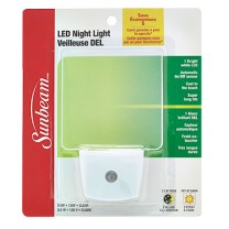 SUNBEAM LED NIGHT LIGHT WITH SENSOR, BLISTERCARD