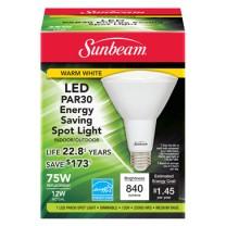 SUNBEAM PAR30 LED 12W, 75W REPLACEMENT, COLOR BOX
