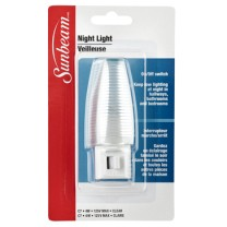 SUNBEAM 4W NIGHT LIGHT WITH SWITCH , CLAMSHELL