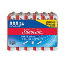 SUNBEAM AAA SUPER HEAVY DUTY - 24 PACK, SHRINKWRAPPED