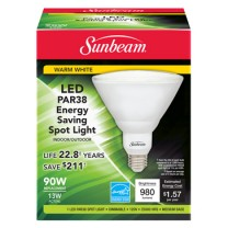 SUNBEAM PAR38 LED 13W, 90W REPLACEMENT, COLOR BOX