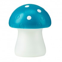 COLOR CHANGING LED MOOD LIGHT, BLUE MUSHROOM