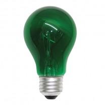 A19 40W GREEN BULB