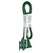 5' (1.5 M) EXTENSION CORD, GREEN