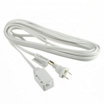 10' (3 M) EXTENSION CORD, WHITE OR BROWN