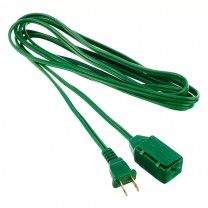 10' (3 M) EXTENSION CORD, GREEN