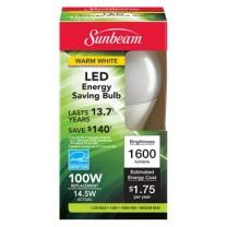 SUNBEAM A19 14.5 W LED, CAJA DE COLOR