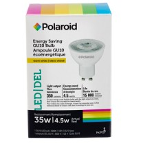 POLAROID GU10 LED 4.5 W, CAJA DE COLOR