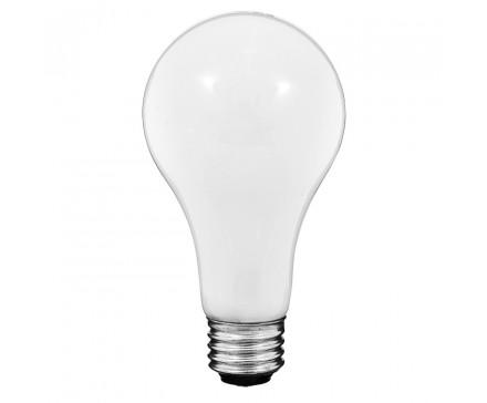 LAMPE À TROIS INTENSITÉS A21 50-100-150 W, BLANC DOUX