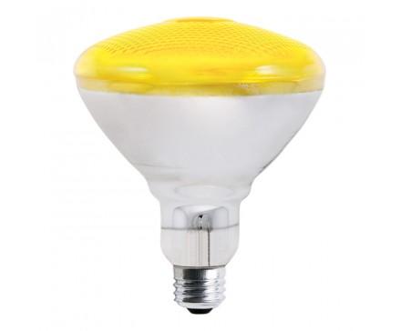 LAMPE ANTI-INSECTES BR38 100 W, JAUNE