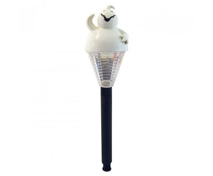 LAMPE SOLAIRE FANTÔME POUR HALLOWEEN EN POLYRESINE 39 CM (15,38 PO)