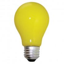 LAMPE ANTI-INSECTES A19 60 W, JAUNE