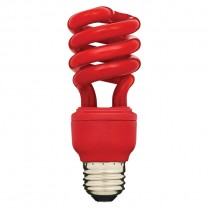 AFC SPIRALE À 13 W, REMPLACEMENT 60 W, ROUGE